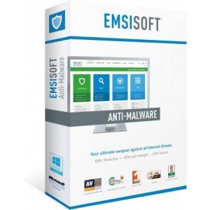 Emsisoft Anti-Malware - 3-pc
